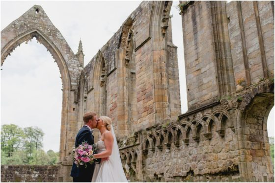 Bolton Abbey Wedding. Mr and Mrs Chew!