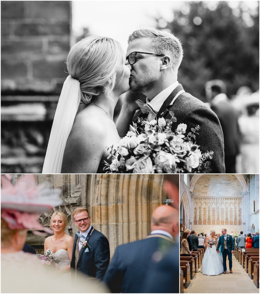 Alt: church yorkshire wedding