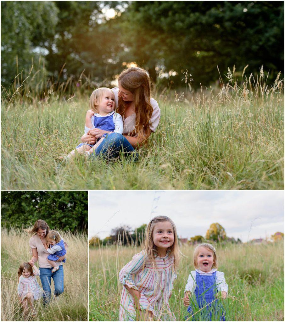 Image: family photo shoot Alfreton