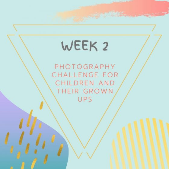 Week 2- Photography Challenge for Children and their Grown ups!