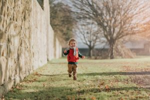 Photography Chesterfield of boy running