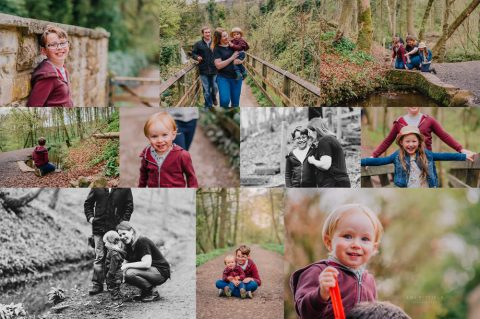 Image: Natural family playing near Chesterfield