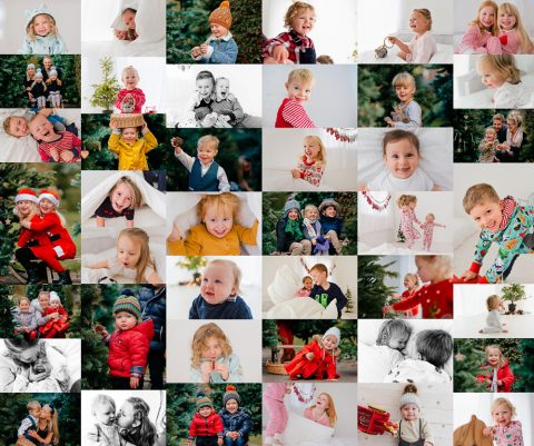 Image: Christmas photoshoot Chesterfield