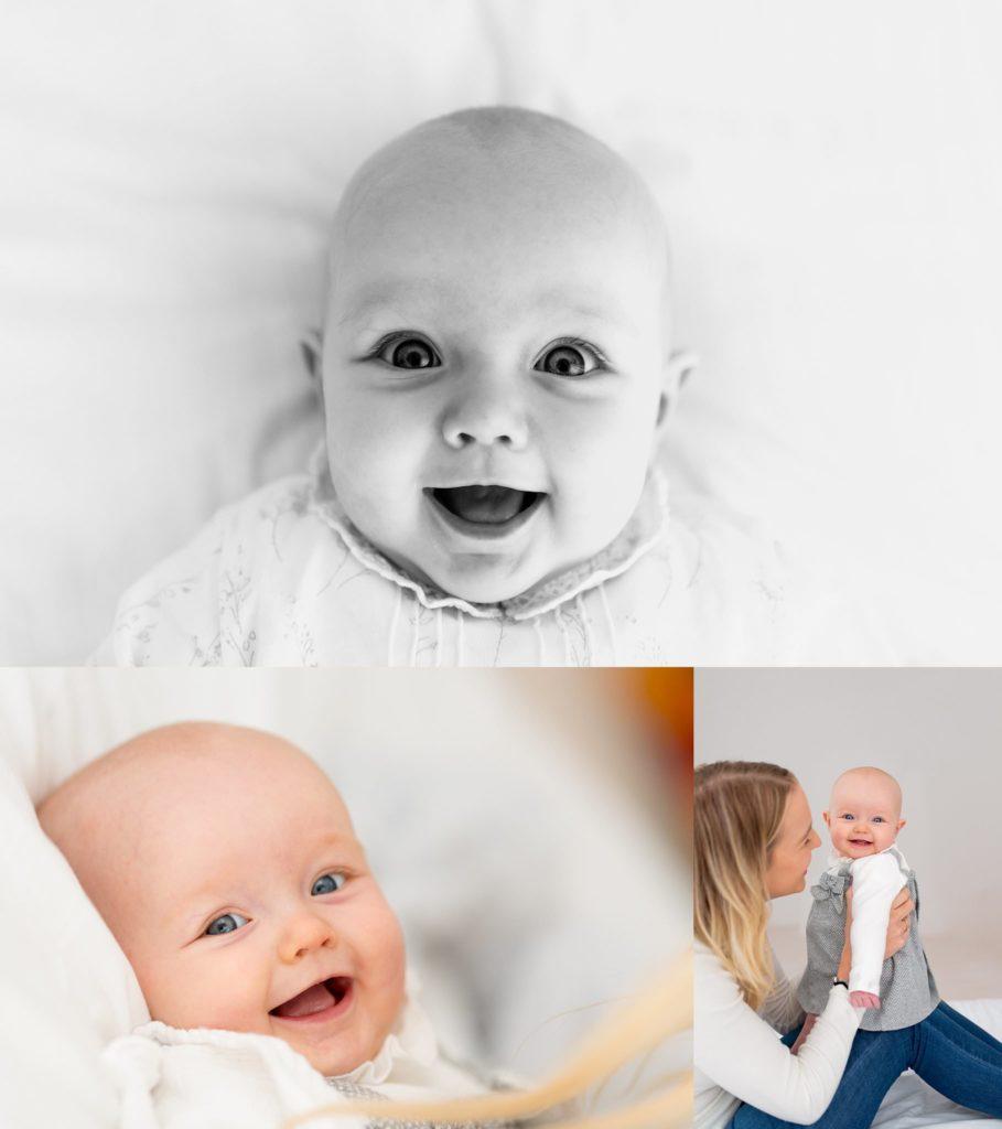 Image: studio photo shoot baby