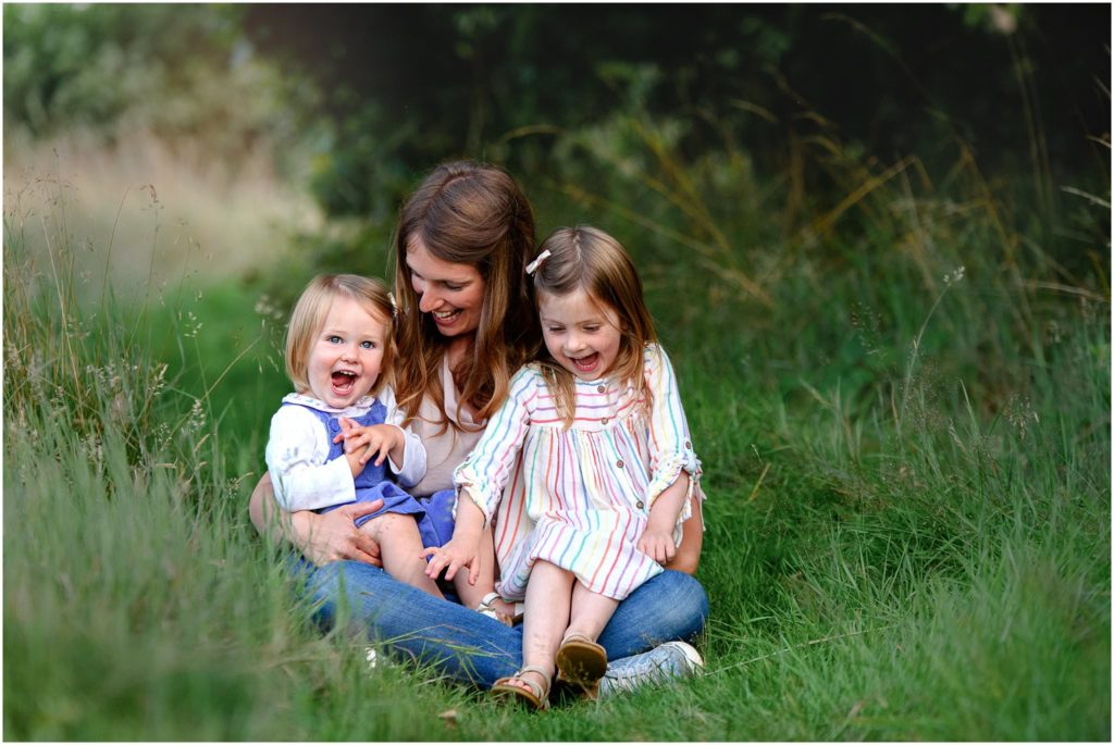 Image: natural family photoshoot chesterfield