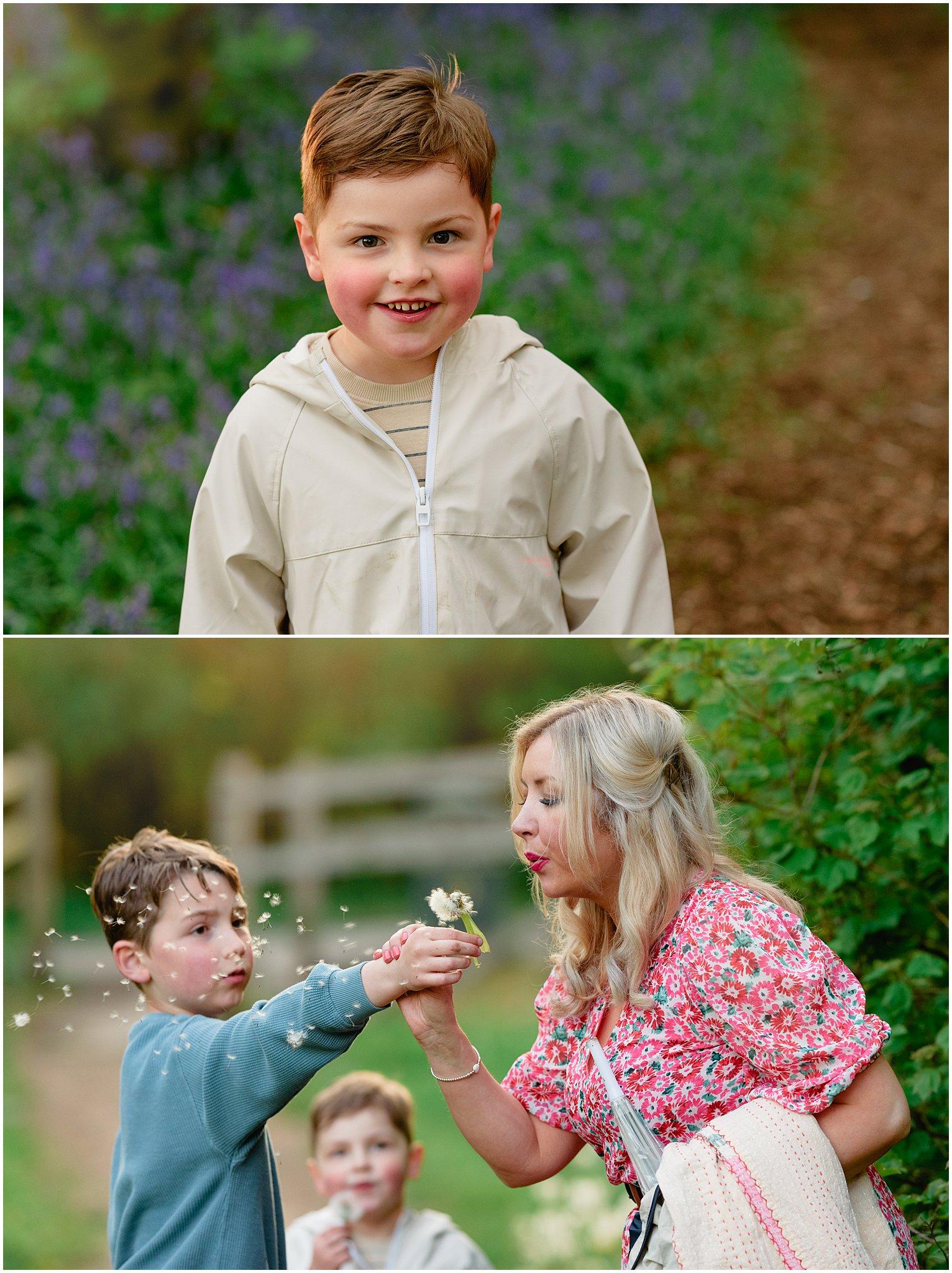 Image: bluebell family shoot